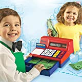 Pretend & Play Calculator Cash Register, 73 Pieces