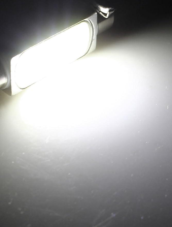 Amazon.com: eDealMax 1.5W 41mm LED Blanco Adorno de la bóveda interna Luz: Automotive