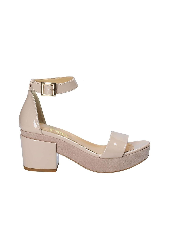Grace Shoes 9978 Sandalias Altos Mujeres 36 EU|Rosa