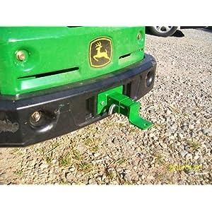 John Deere Z Trak Rear Lawn Mower Tractor Trailer Zero Turn Hitch for Models Z910, Z920, Z925, Z930, Z950, Z960, Z970