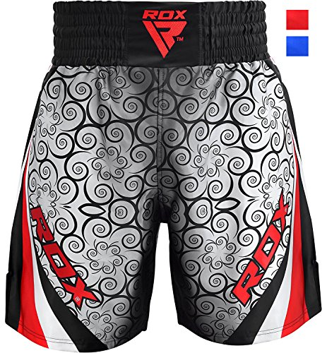 (RDX Boxing Fight Shorts MMA Grappling Muay Thai Bottom Trunks Cage Fighting Training Martial Arts Kickboxing )