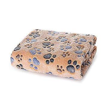 Allisandro Manta Perro Cojin con Huellas de Patas Pintadas Cama para Animales XL: Amazon.es: Productos para mascotas