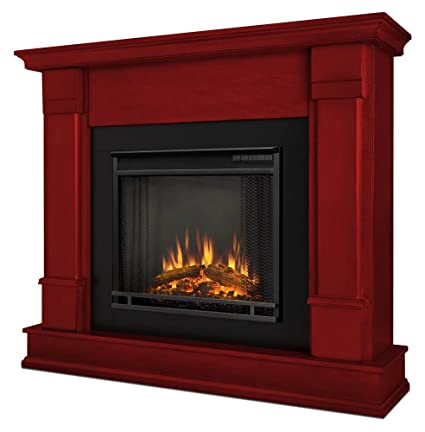Amazon Com Real Flame Silverton Indoor Electric Fireplace In Rustic