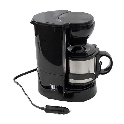 Cafetera con taza térmica, incluye soporte de pared, filtro ...