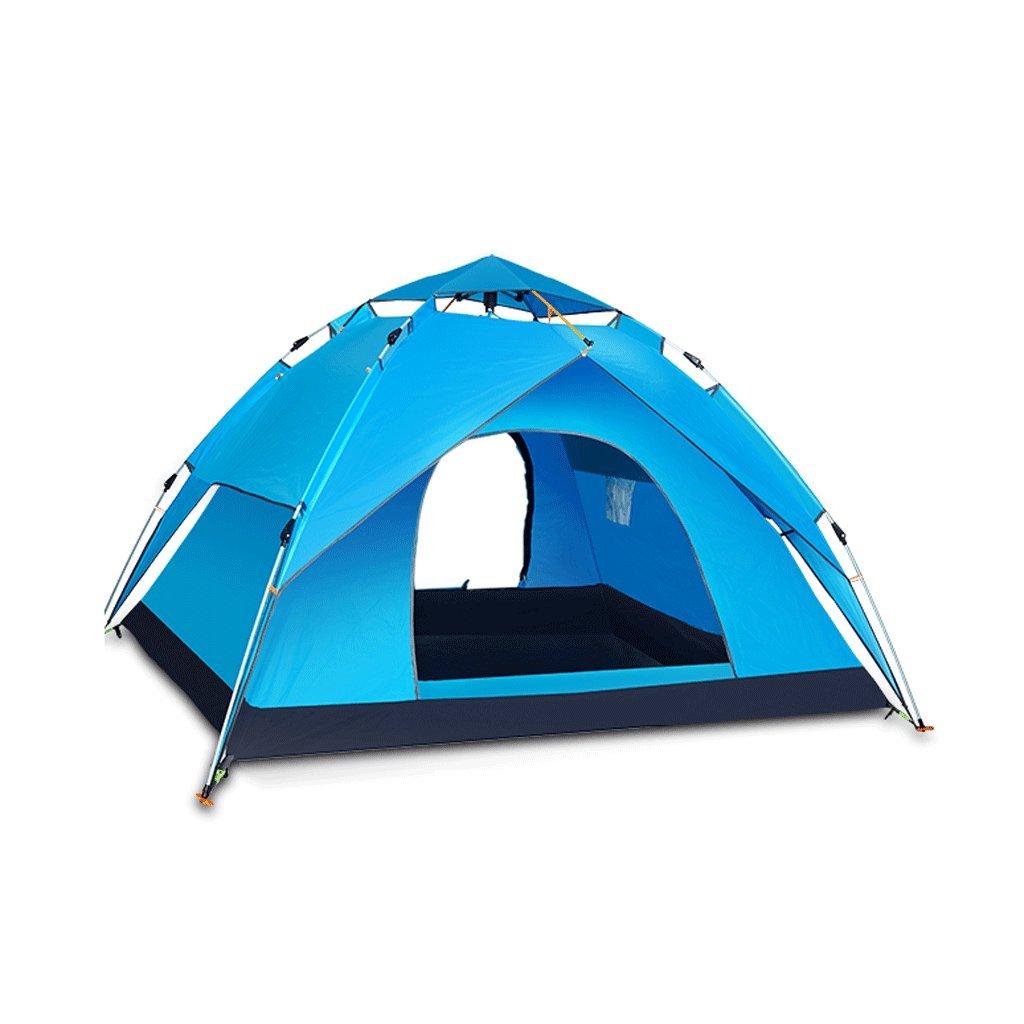 TLMY Explorer Automatische Zelte Outdoor Camping Camping Zelte (Farbe : Blau)