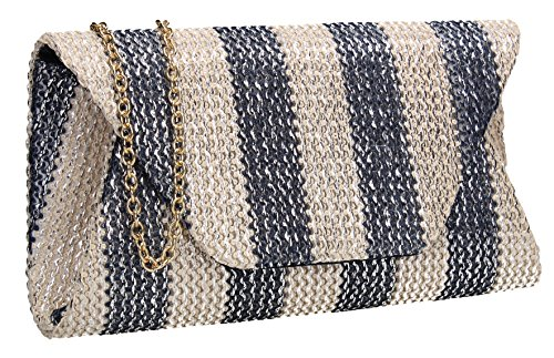 SWANKYSWANS Brook Envelope Party Prom Wedding Night Out Celebrity Ladies Purse Evening Clutch ()