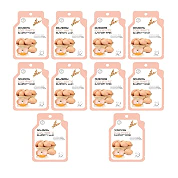 Dearderm EGF Healing Mask (10 pcs) Lip Smacker Disney Tsum Tsum Lip Balm, Daisy Duck Glamorous Cotton Candy