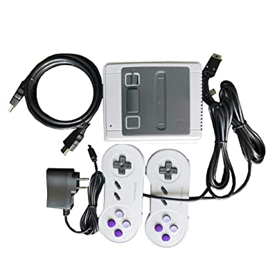 Video Game Console for TV Built-in 621 Classic Video Games Console Wireless Controller HDMI Output Players: Toys & Games