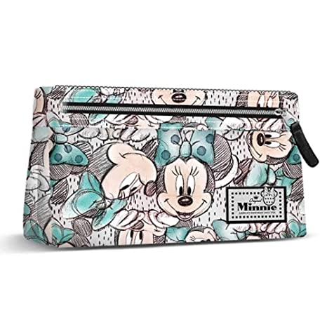 Karactermania 37564 Disney Classic Minnie Drawing Estuches, 22 cm, Gris, poliéster
