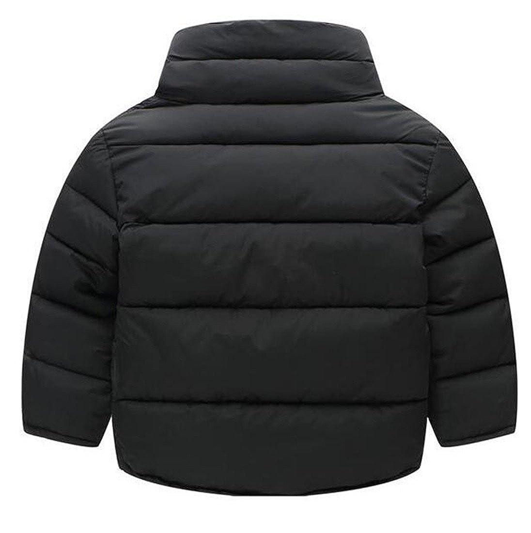 Sweatwater Girls Boys Winter Bubble Down Button Front Parkas Jackets Coat