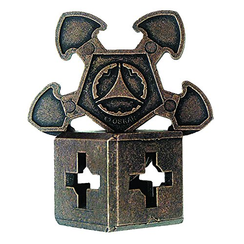 O'GEAR Hanayama Cast Metal Brain Teaser Puzzle (Level 3)