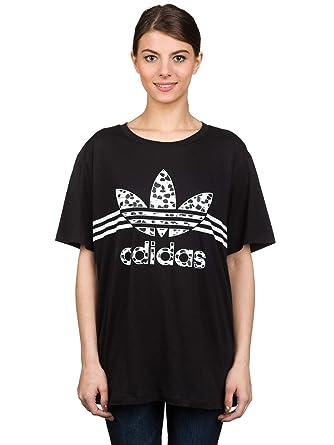 2b448dc9d323 adidas Originals Women s Boyfriend Tee Inked Logo T-Shirt 16UK ...