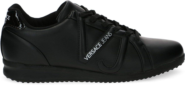 Versace Luxury Fashion Herren E0YSBSC27085201 Schwarz Sneakers Herbst Winter 19