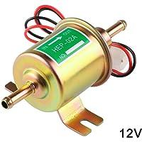 Wodeni - Bomba de Combustible de Gasolina, 12 V, 24 V, Transferencia eléctrica de Baja presión, Duradera para Coche