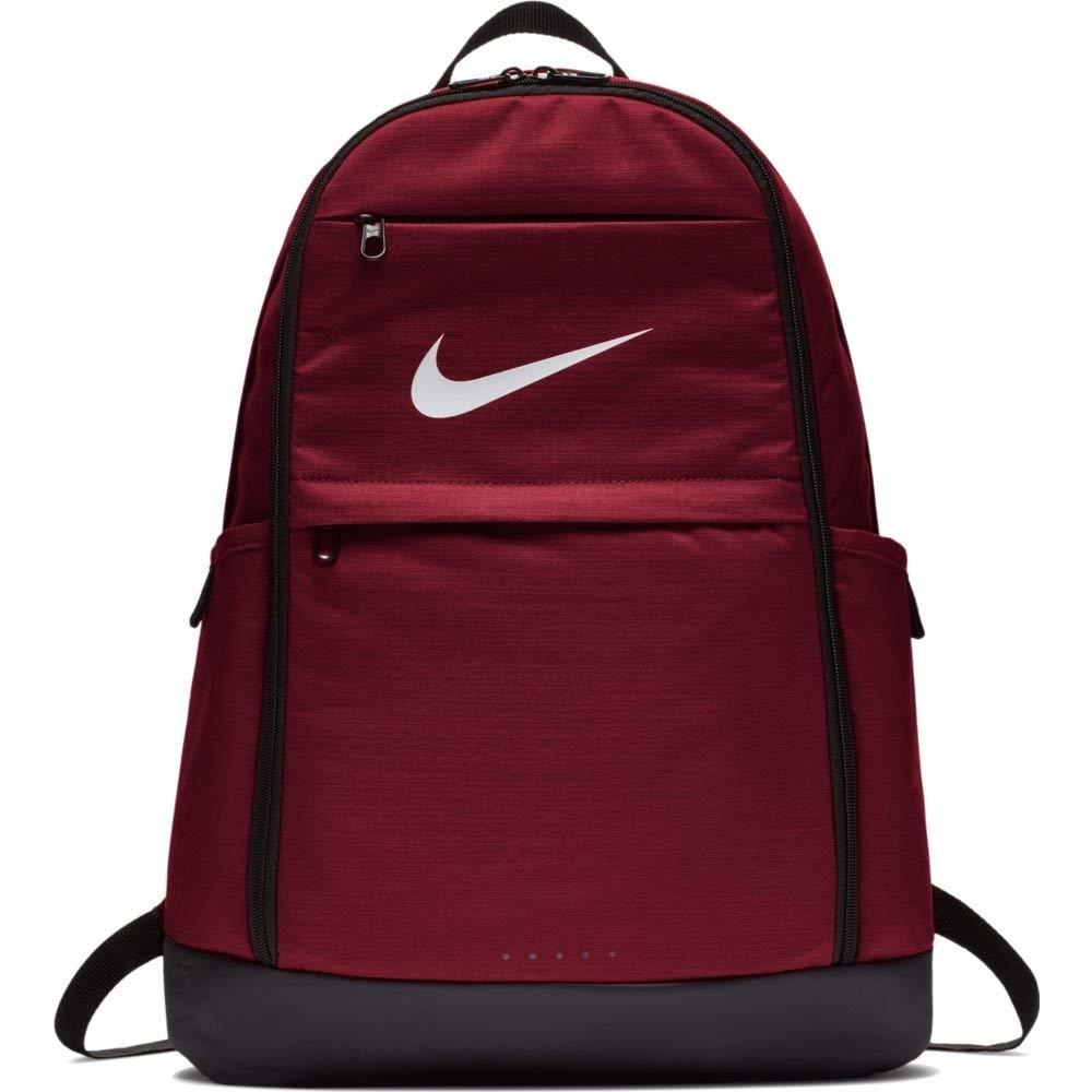 Men's Nike Brasilia Backpack Red Crush/Black/White Size One Size
