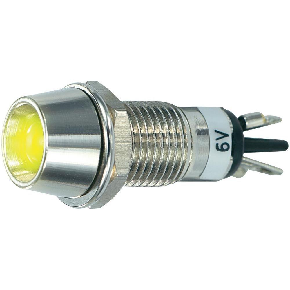 Voyant de signalisation LED SCI R9-115L 6 V YELLOW jaune 6 V/DC 20 mA 1 pc(s)