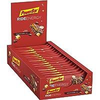 PowerBar Ride Energy Chocolate Caramel 18x55g - Barra de Proteínas de Carbohidratos + Magnesio