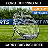 Forb Practice Golf Chipping Net (Carry Bag Included) - Up Your Short Game and Improve Your Handicap [Net World Sports]
