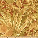 Tommy Bahama Indoor/Outdoor Bahamian Breeze Cinnamon Fabric By The Yard