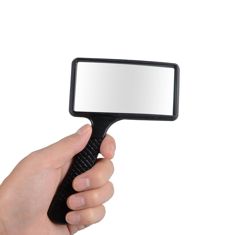Changshengda palmare ingrandimento 3/x rettangolo lente d ingrandimento lettura lente di ingrandimento gioielli lente di ingrandimento nero