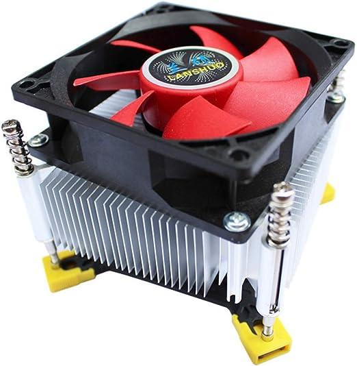 Chengleilei Enfriador de la CPU 1366 CPU de Aluminio Puro ...