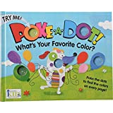 Constructive Playthings INN-87 What's Your Favorite Color? Poke-A-Dot Color Finding Baord Book, Grade: Kindergarten to 3