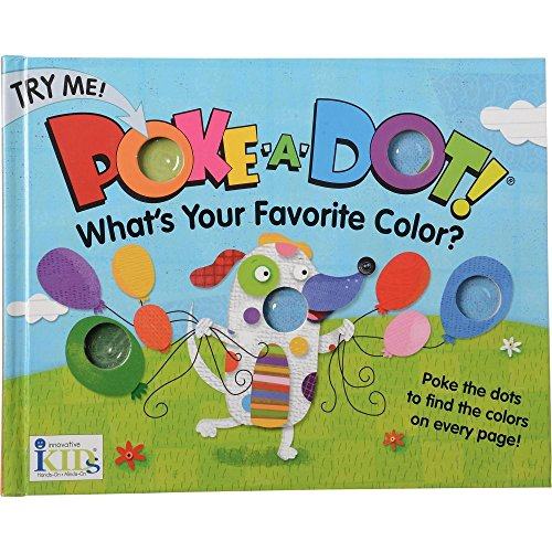 Constructive Playthings INN-87 What's Your Favorite Color? Poke-A-Dot Color Finding Baord Book, Grade: Kindergarten to 3 by Constructive Playthings