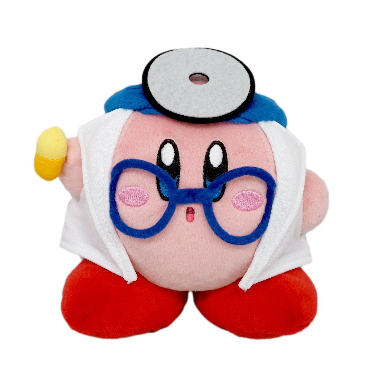 Obtén lo ultimo Reducción de precio Sanei Kirby`s Dream Land Plush Plush Plush KP24 Doctor Kirby  alta calidad