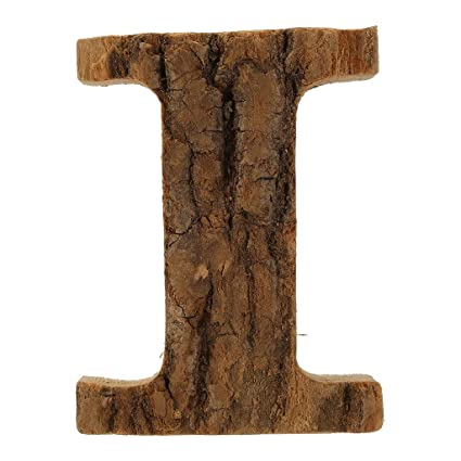 J Transser DIY Natural Rustic Unfinished Wood 26 Alphabet Letters for Festival Party Wedding Birthday Wooden Decoration Saying Name Sign Signboard Notice Board Door Numbers 3.8 Height