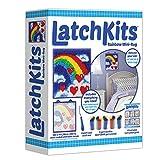 Latch Kits Rainbow Mini-Rug Sewing Kit