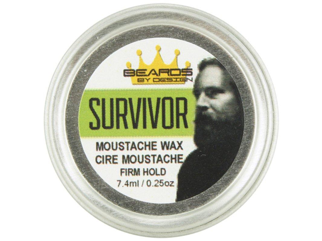 Beards By Design - Moustache Wax - Modern Man - 7.5Ml