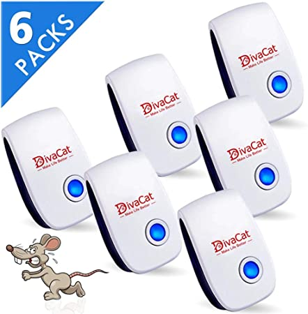 Flies Powerful Sonic Repellent for Mouse B-SAFE Ultrasonic Pest Repeller Plug in Mosquito Ants Cockroach Rats Spiders. Mice Repellent /& Rat Deterrent
