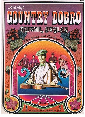Mel Bays Country Dobro Guitar Styles ()