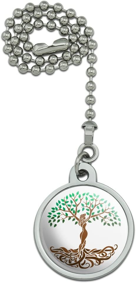GRAPHICS & MORE Tree of Life Mother Nature Ceiling Fan and Light Pull Chain