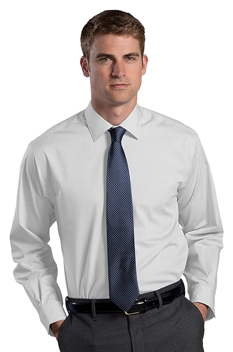 Ed Garment Mens Long Sleeve Non Iron Dress Shirt 3XL 37 WHITE