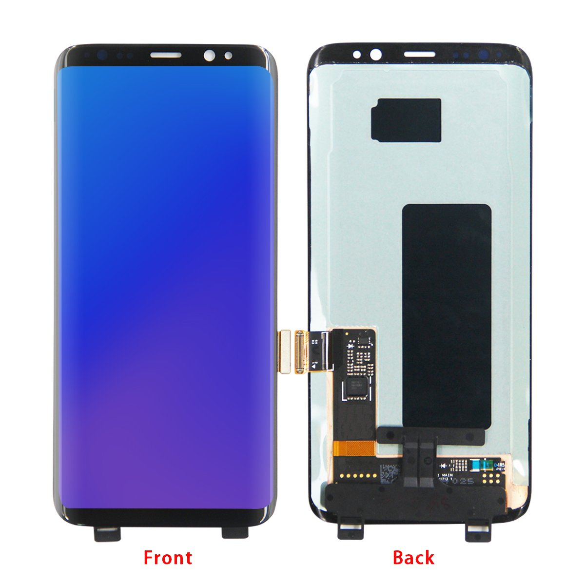 HJSDtech LCD Display Screen Touch Screen Digitizer Assembly Replacement for Samsung Galaxy S8