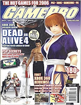 Game Pro Magazine January 2006 Dead Or Alive 4 V Amazon Com