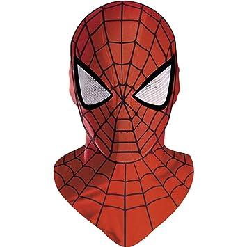 Disfraz 179109 M-scara de Spider-Man Deluxe adultos: Amazon.es ...