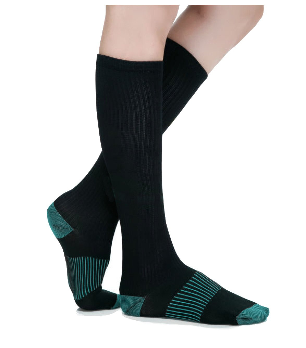 Primary Health Sports Best Compression Copper Socks - Great for Men, Women, Travelers, Nurses, Pregnancy - Protect & Support your Calves, Ankles, and Feet. Graduated Compression. 15-20mmhg