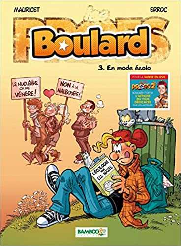 Amazon Fr Boulard T03 Pack Affiche Kev Adams Mauricet