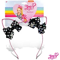 JoJo Siwa Girls Glitter Cat Ear with Mini Bow Headband