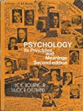 Psychology, Its Principles and Meanings, Lyle E. Bourne and Bruce R. Ekstrand, 0030896282