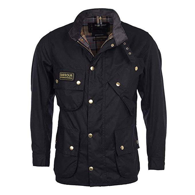 low priced b8015 4a114 Barbour Giacca moto cerata International Original Wax Jacket ...