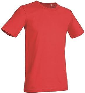 8136267d Hanes Mens Plain Slim Fit Fit-T Cotton Tshirt Tee T-Shirt