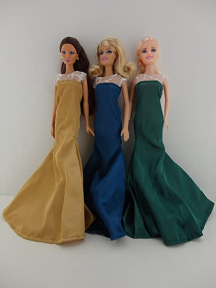 Amazon.com: Set of 3 Old Hollywood Inspired Dresses All in Jewel ...