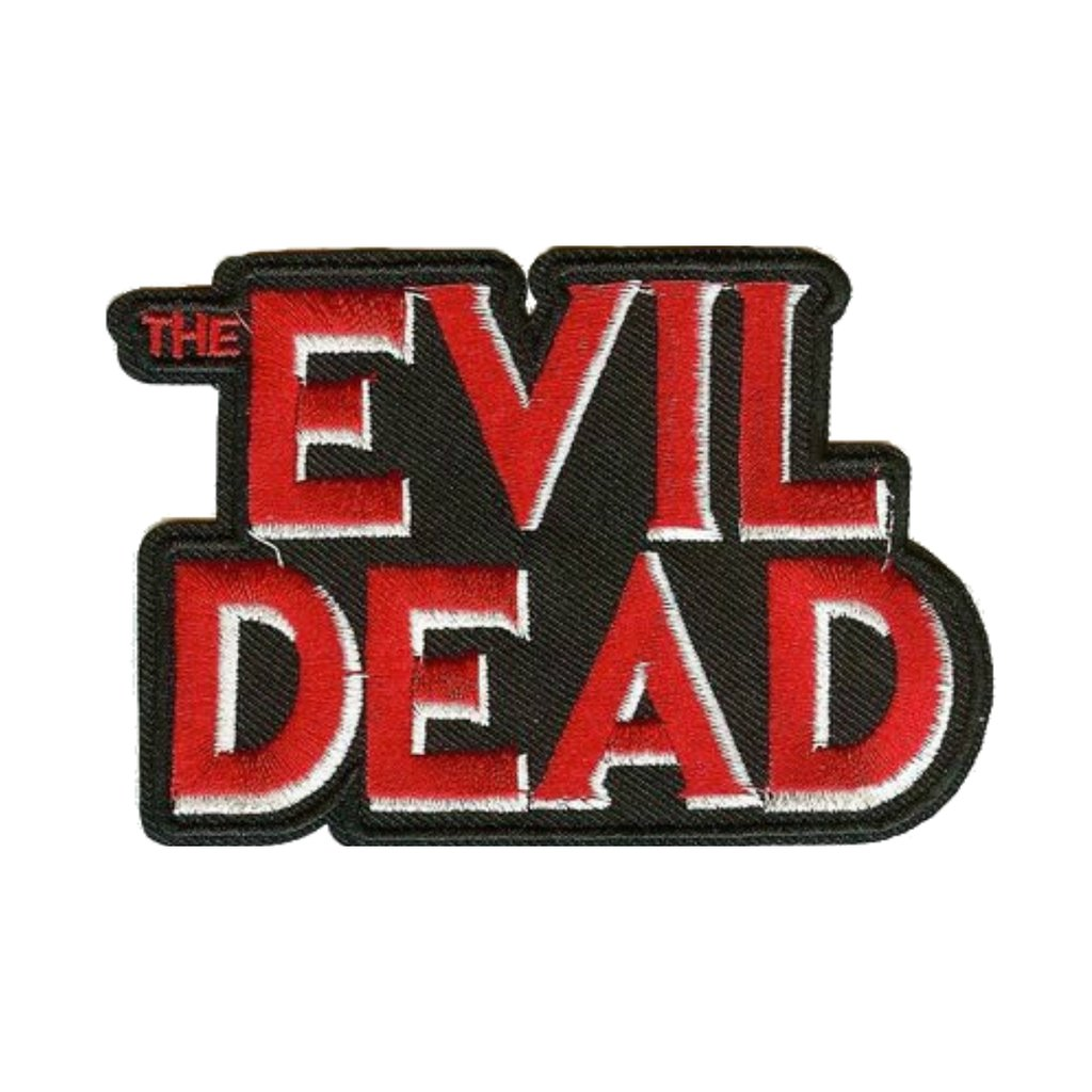 The Evil Dead Movie Logo Patch