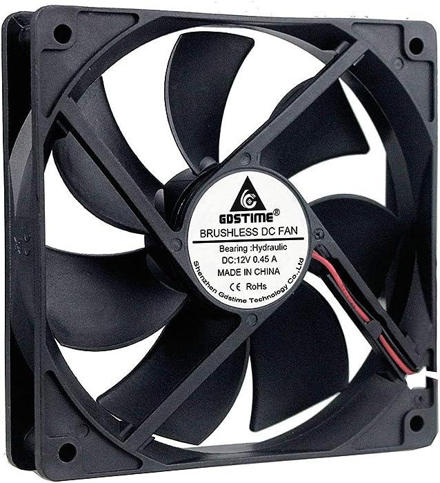 GDSTIME 120mm x 25mm 105cfm 3000rpm Hydraumatic Bearing Brushless Dc Cooling Fan