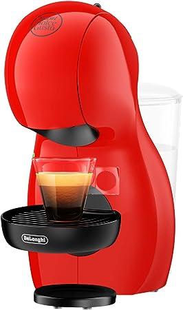 Dolce Gusto Piccolo XS EDG210.R Cafetera de cápsulas, 15 bares de presión, diseño compacto, 1400 W, Steel, Rojo: Amazon.es: Hogar