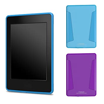 Amazon.com: MoKo Case For Kindle Paperwhite, [2-Pack] Soft TPU ...
