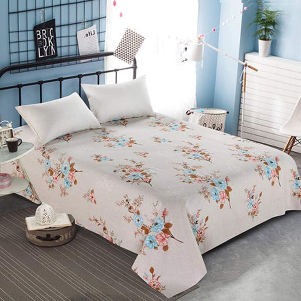 WSWJJXB Edredones de algodón Cepillado Láminas del Dormitorio Individuales Dobles engrosadas 1.2/1.35 m (Color : C, Size : 200X230cm): Amazon.es: Hogar